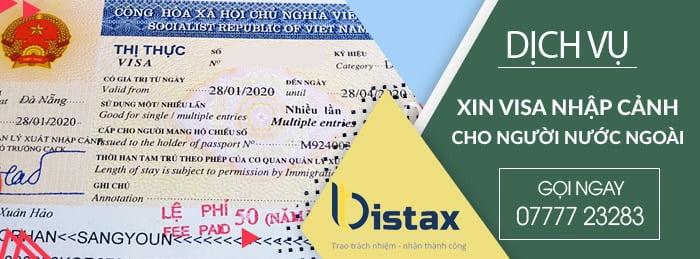 Xin visa nhập cảnh cho người nước ngoài uy tín tại TP HCM