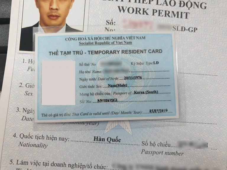 Những giấy tờ người nước ngoài muốn làm việc ở Việt Nam