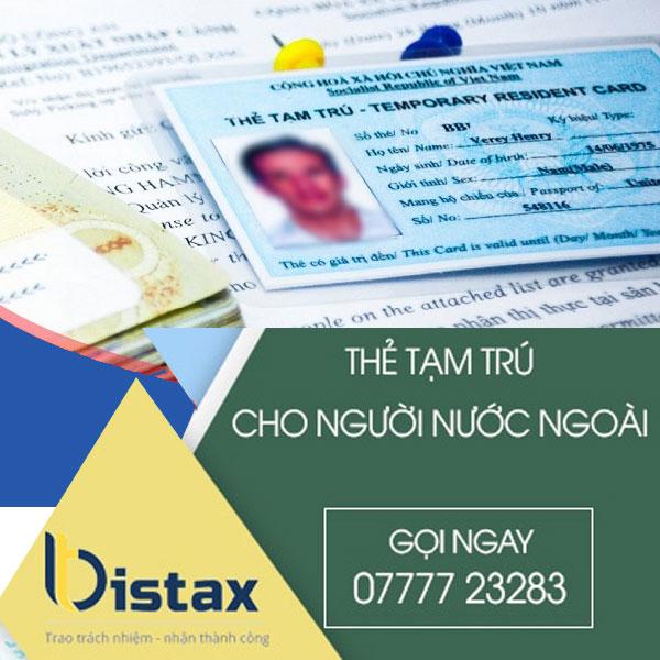 Điều kiện cấp thẻ tạm trú