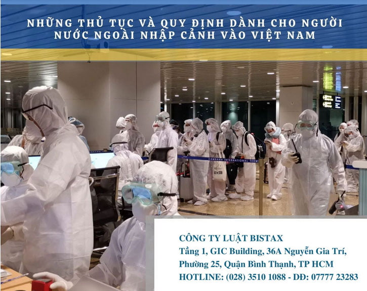 Thủ tục nhập cảnh vào Việt Nam