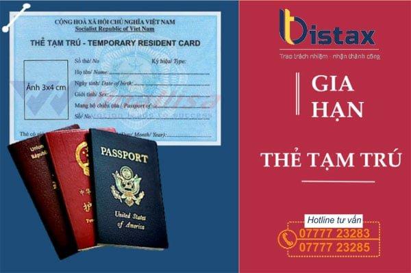 Người nước ngoài tại Việt Nam cần gia hạn thẻ tạm trú khi loại giấy này gần hết hạn