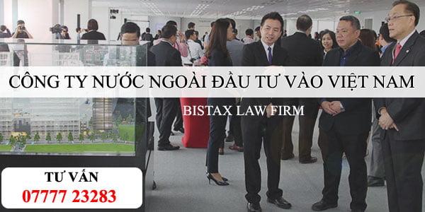 Công ty nước ngoài góp vốn đầu tư vào Việt Nam có nhiều hình thức khác nhau. Mỗi hình thức đầu tư có những ưu điểm riêng. Về điều kiện để Công ty nước ngoài sở hữu tỷ lệ vốn từ 1% đến 100%, phụ thuộc vào những lĩnh vực đầu tư (ngành nghề kinh doanh) theo Hiệp định cam kết thương mại giữa Việt Nam và các nước trên thế giới.