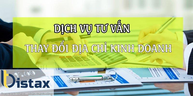 Dịch vụ tư vấn thủ tục thay đổi địa chỉ kinh doanh (trụ sở chính) công ty trên giấy phép kinh doanh tại TP HCM
