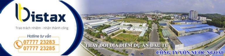 Tư vấn thủ tục thay đổi địa điểm dự án đầu tư công ty nước ngoài tại Việt Nam, địa chỉ kinh doanh
