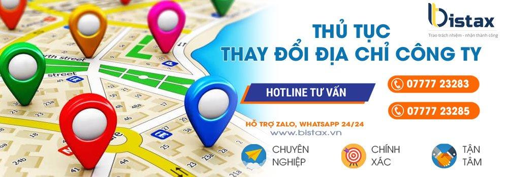 Thủ tục thay đổi địa chỉ kinh doanh tại TPHCM