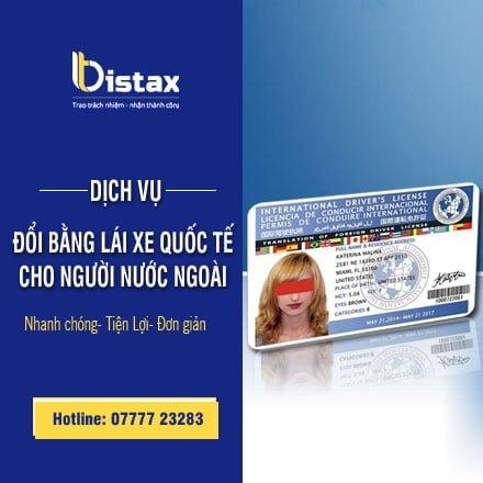 Dịch vụ đổi bằng lái xe quốc tế cho người nước ngoài