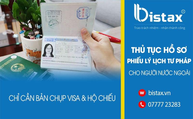 Thủ tục cấp phiếu lý lịch tư pháp cho người nước ngoài tại TPHCM