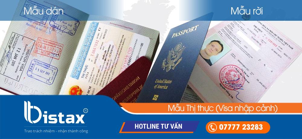 Thị thực (Visa nhập cảnh) cho người nước ngoài