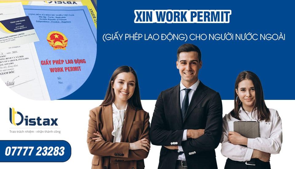 Xin work permit ở Việt Nam