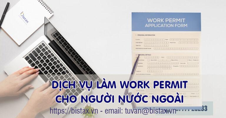Dịch vụ làm work permit cho người nước ngoài tại Luật Bistax