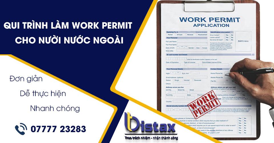 Qui trình làm work permit cho người nước ngoài