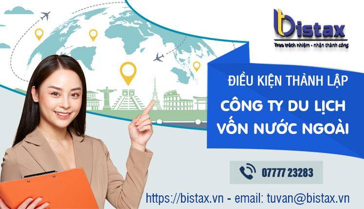 Công ty du lịch có vốn đầu tư nước ngoài