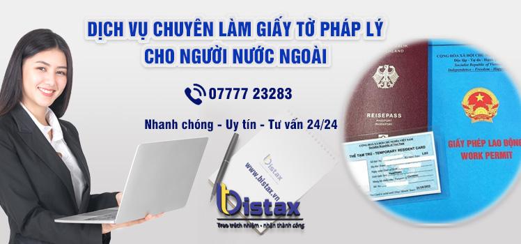 Dịch vụ làm giấy tờ pháp lý cho người nước ngoài