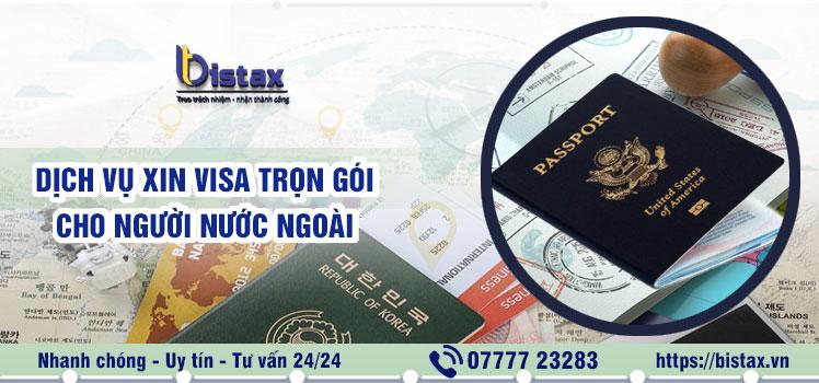 Dịch vụ xin visa trọn gói