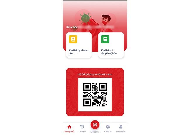 Mã QR app VNEID