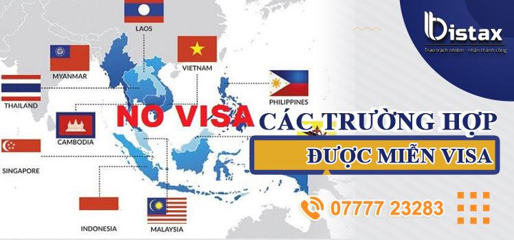Các đối tượng được miễn visa