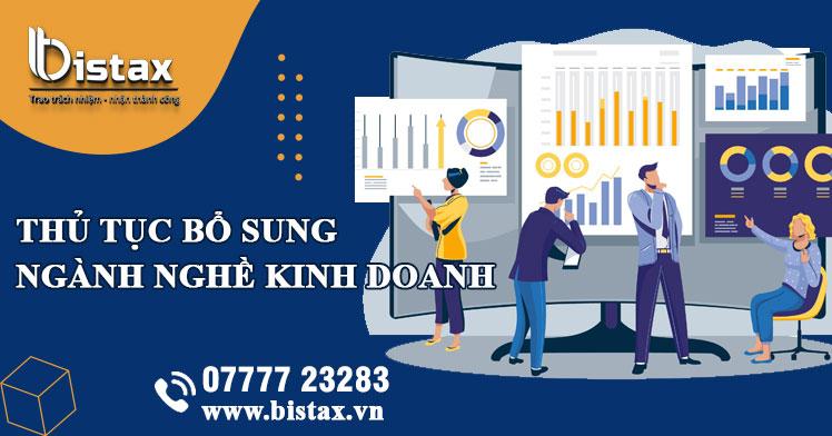 Hưỡng dẫn chi tiết thủ tục bổ sung ngành nghề kinh doanh